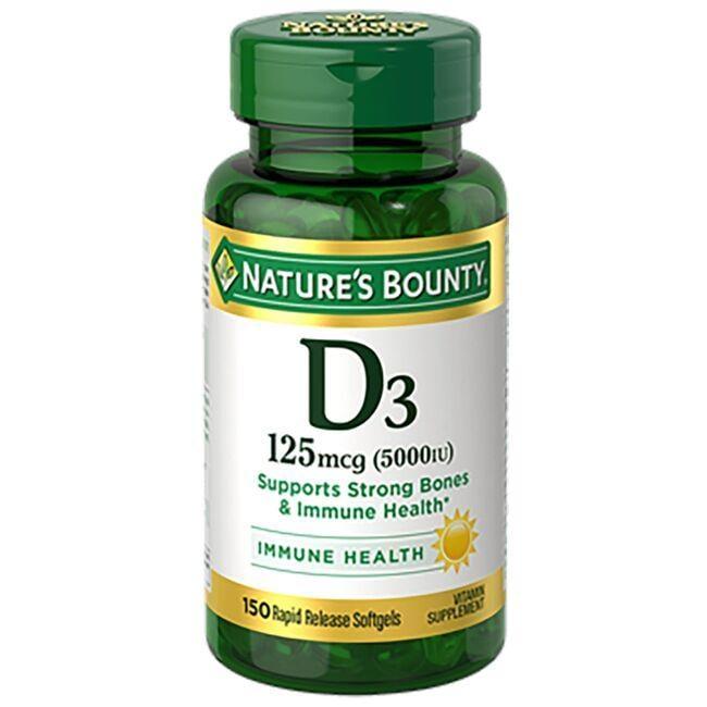 Nature's BountyVitamin D3