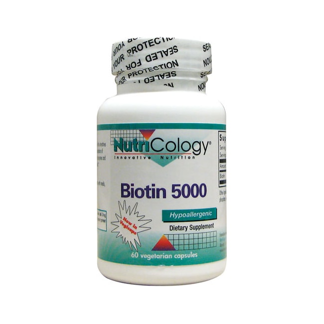 NutriCology Allergy Research Biotin