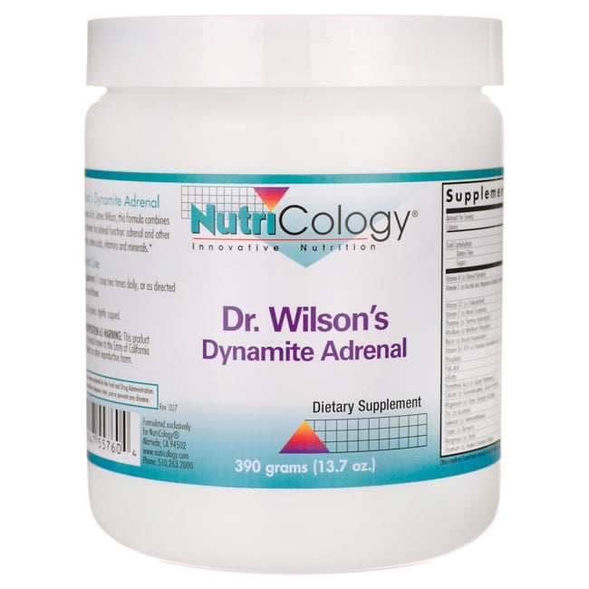 NutriCology Allergy Research Dr. Wilson's Dynamite Adrenal