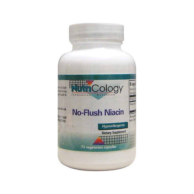 NutriCology Allergy Research No-flush Niacin
