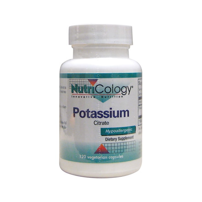 NutriCology Allergy Research Potassium Citrate