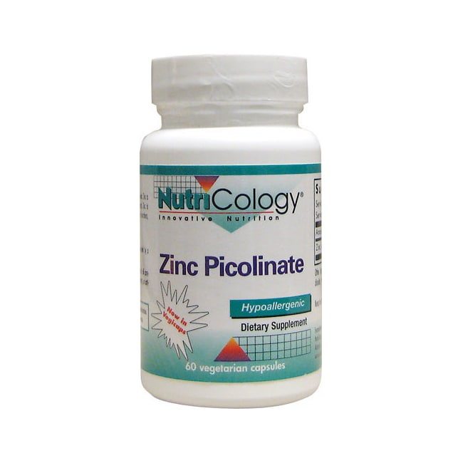 NutriCology Allergy Research Zinc Picolinate