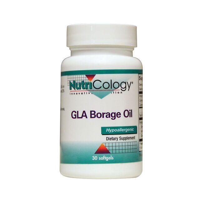NutriCology Allergy ResearchGLA Borage Oil