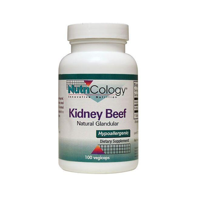 NutriCology Allergy ResearchKidney Beef Natural Glandular