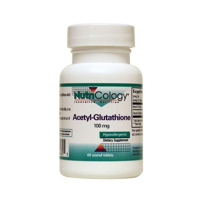NutriCology Innovative Nutrition NutriCology Acetyl-Glutathione
