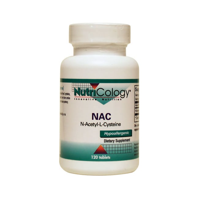 NutriCology Allergy ResearchNutriCology NAC N-Acetyl-Cysteine