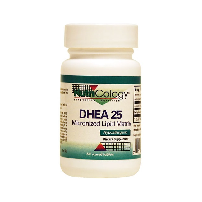 NutriCology Allergy Research DHEA 25 - Micronized Lipid Matrix