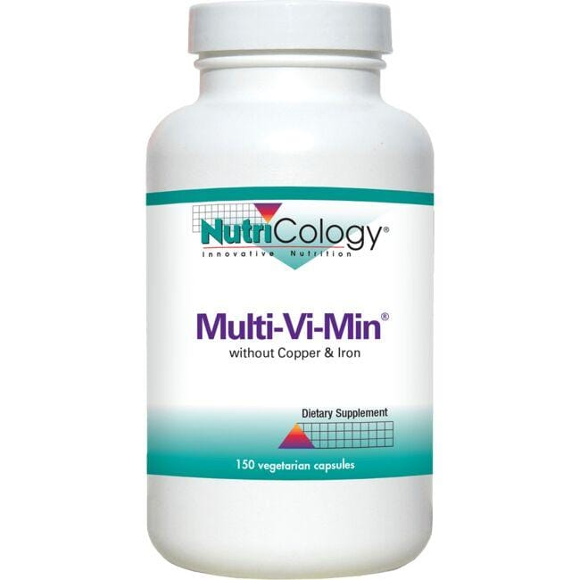 NutriCology Innovative Nutrition Multi-Vi-Min without Copper and Iron