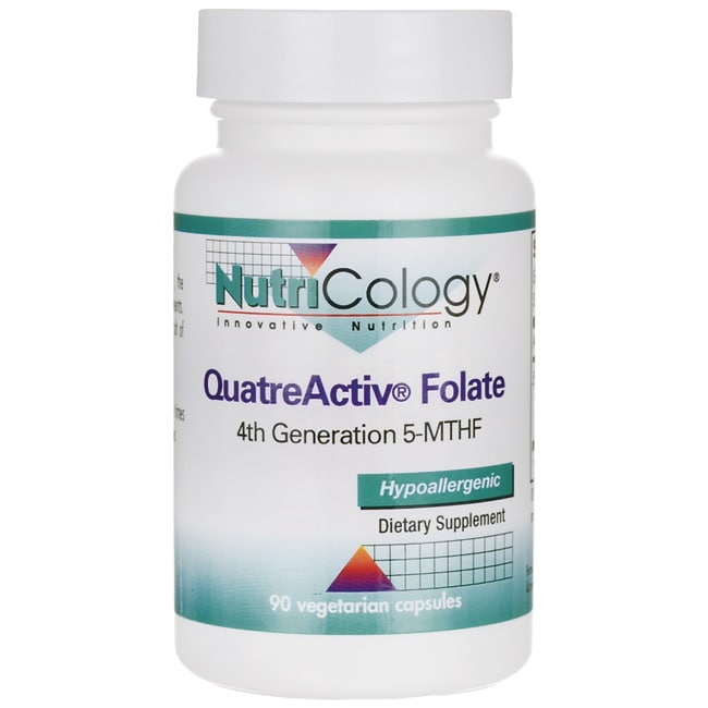 NutriCology Allergy Research QuatreActiv Folate