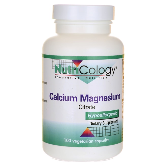 NutriCology Allergy ResearchCalcium Magnesium Citrate