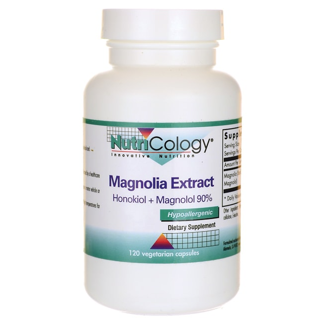 NutriCology Allergy ResearchMagnolia Extract Honokiol + Magnolol 90%