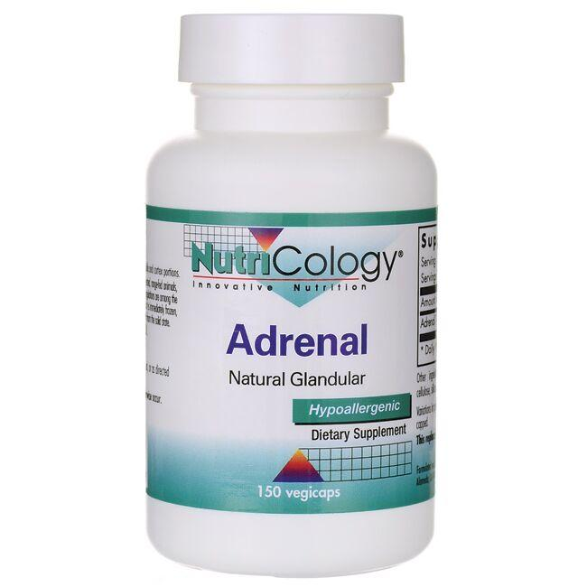 NutriCology Innovative NutritionAdrenal Natural Glandular