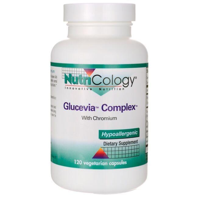 NutriCology Allergy ResearchGlucevia Complex with Chromium