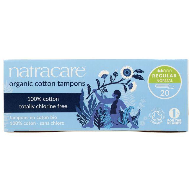 NatracareOrganic Cotton Tampons - Regular
