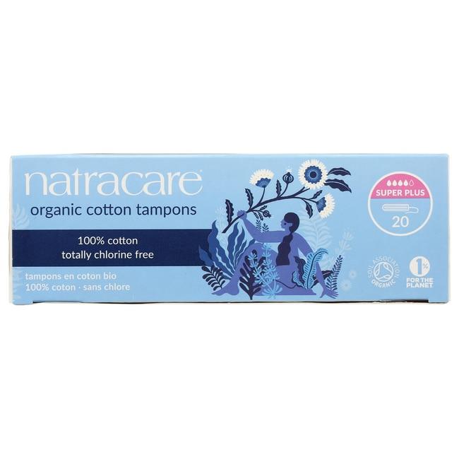 Natracare Organic Non-Applicator Super Plus Tampon