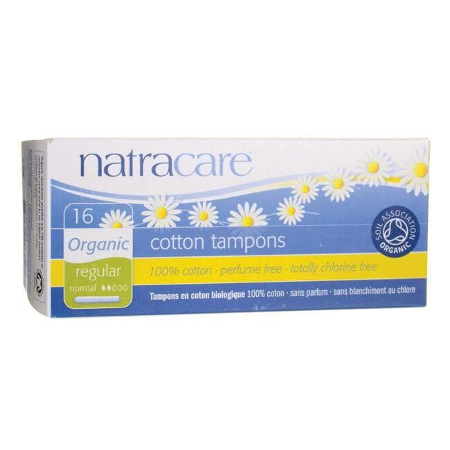 Natracare Organic Cotton Tampons with Applicator - Regular