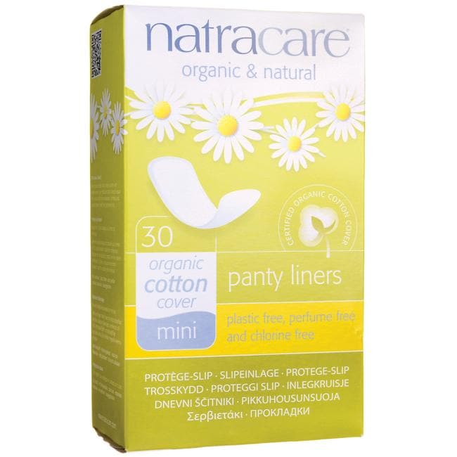 Natracare Organic Cotton Cover Panty Liners - Mini