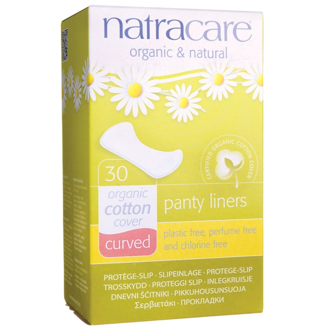 NatracareNatural Curved Panty Liners