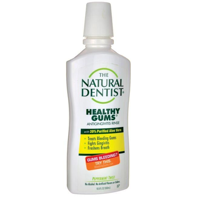 Natural DentistHealthy Gums Antigingivitis Rinse - Peppermint Twist