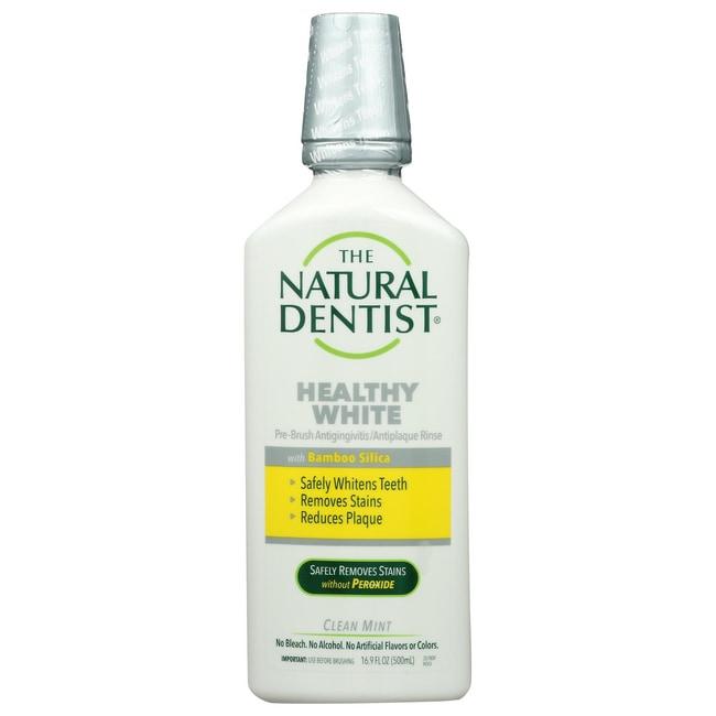 Natural DentistHealthy White Pre-Brush Rinse - Clean Mint