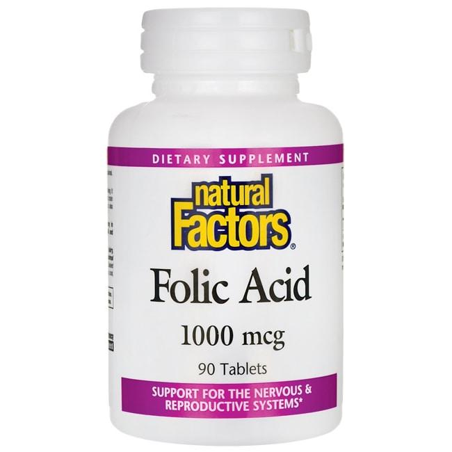 Natural Factors Folic Acid