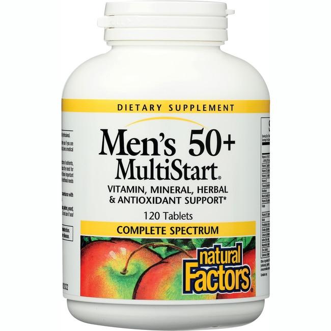Natural Factors MultiStart Men 50+