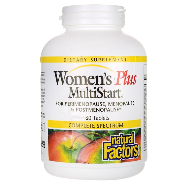 Natural FactorsWomen's Plus MultiStart