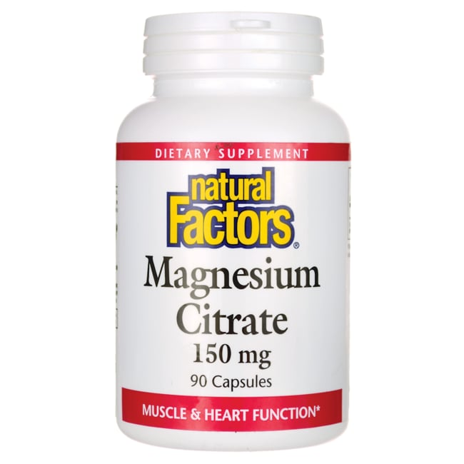 Natural FactorsMagnesium Citrate