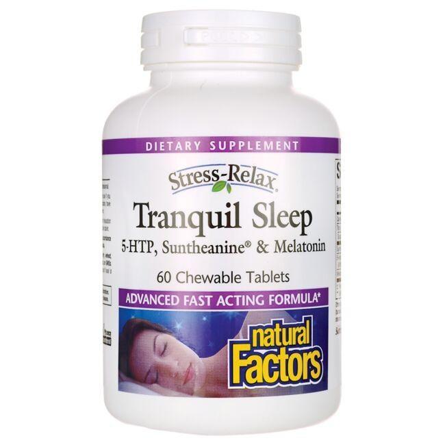 Natural FactorsStress Relax Tranquil Sleep