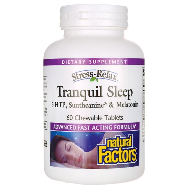 Natural Factors Stress Relax Tranquil Sleep