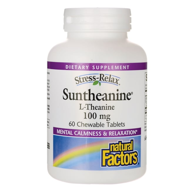 Natural Factors Stress Relax Suntheanine L-Theanine