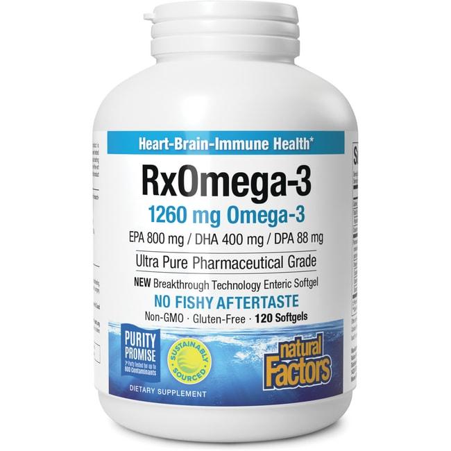 Natural FactorsRX Omega-3 Factors