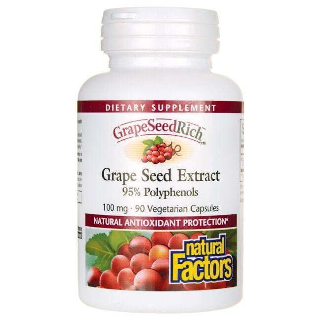 Natural Factors Grape Seed Extract