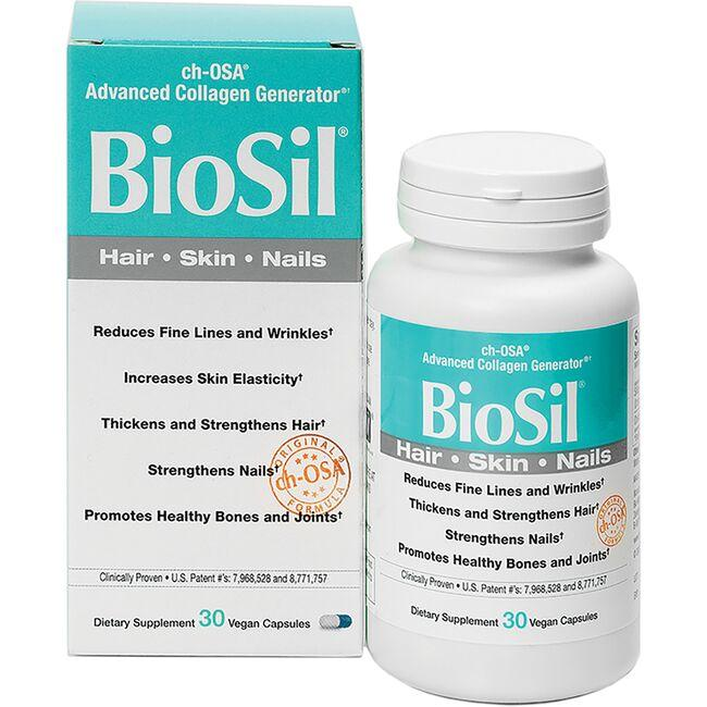 Natural FactorsBioSil - Hair, Skin, Nails