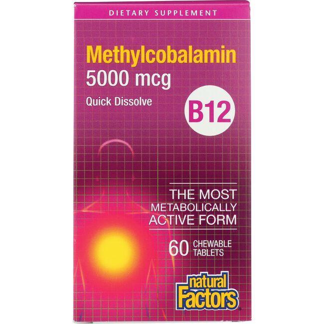 Natural FactorsB12 Methylcobalamin
