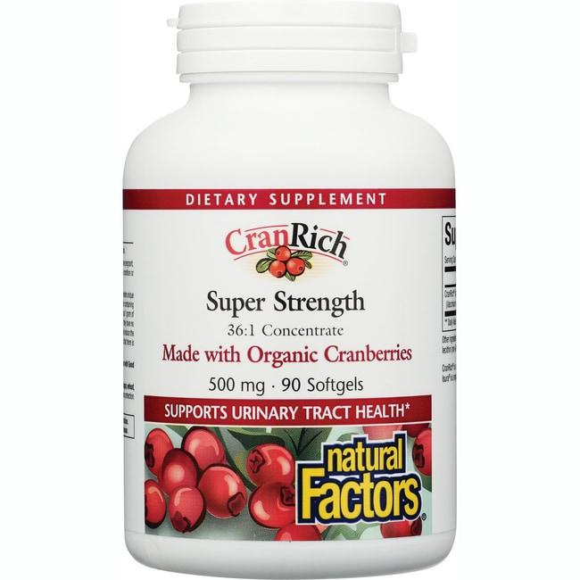 Natural Factors CranRich Super Strength