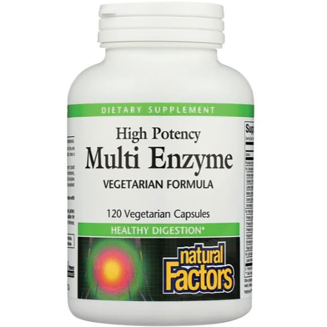 Multi Enzyme Natural Factors Reviews