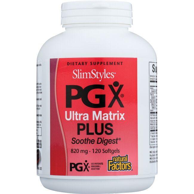 Natural FactorsSlimStyles PGX Ultra Matrix Plus Smooth Digest