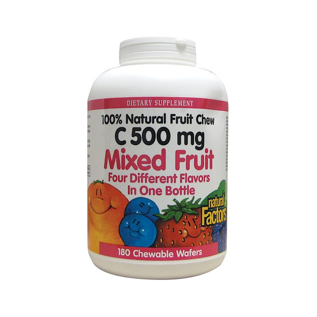 Natural Factors Vitamin C Mixed Fruit