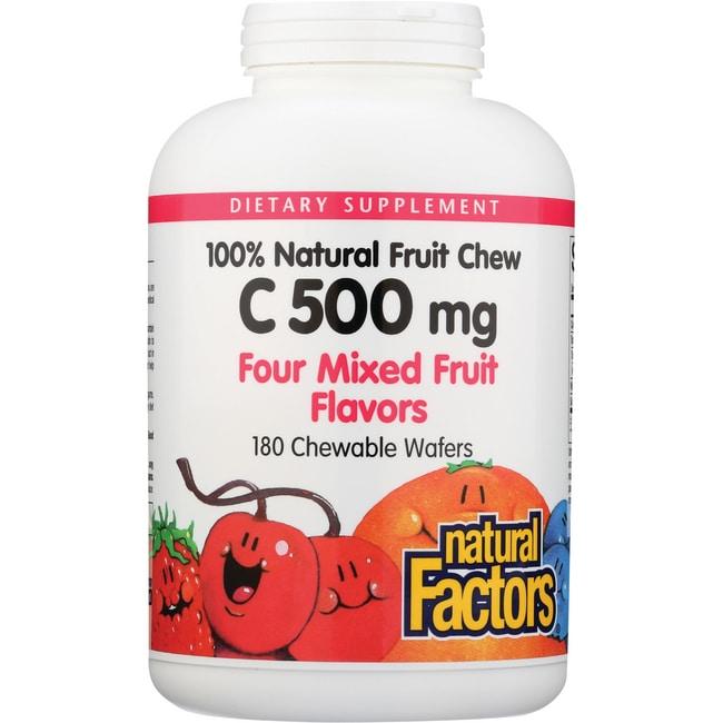 Natural FactorsVitamin C Mixed Fruit
