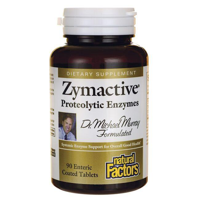 Natural Factors Zymactive with Serratia Peptidase Proteolytic Enzymes