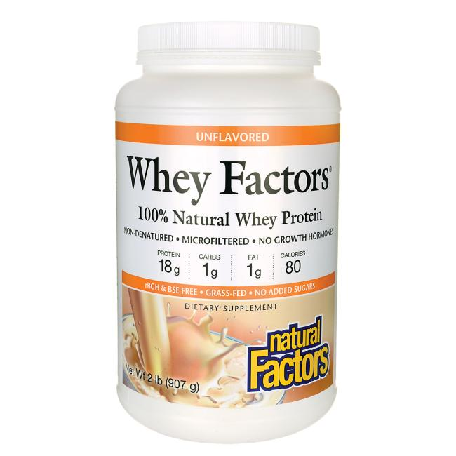 Natural Factors Whey Factors Unflavored