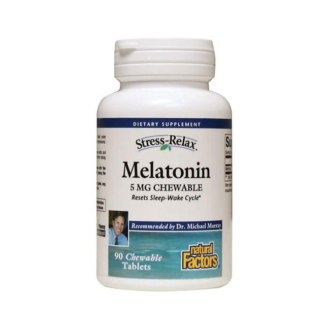Natural FactorsMelatonin