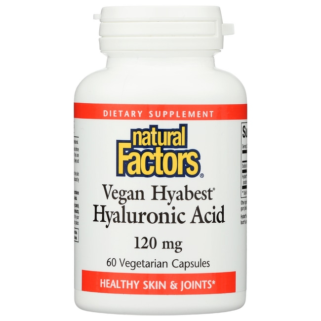 Natural FactorsHyabest Hyaluronic Acid