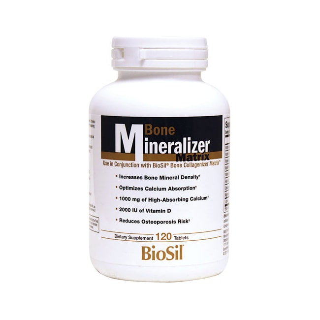 Natural FactorsBioSil Bone Mineralizer Matrix