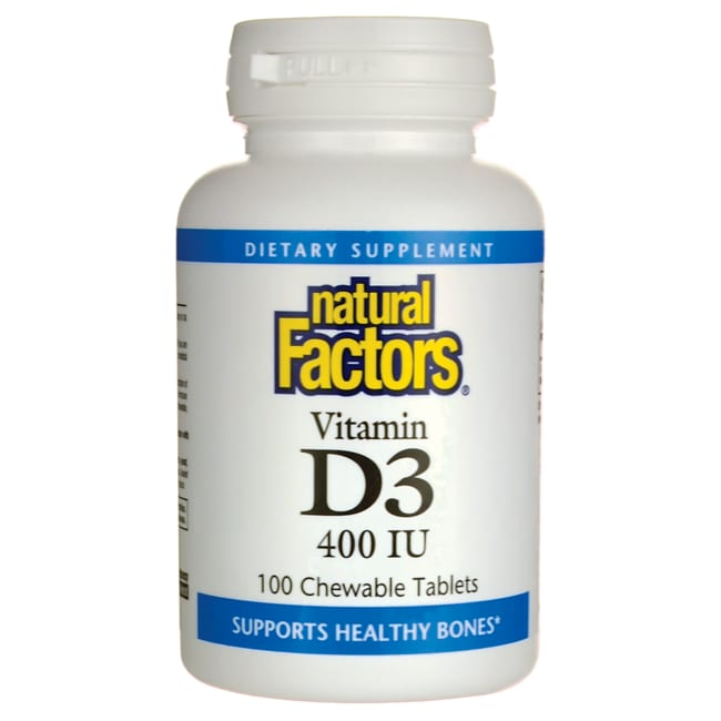 Natural Factors Vitamin D3 for Kids