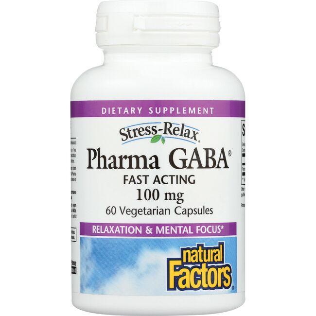 Natural FactorsStress-Relax Pharma GABA