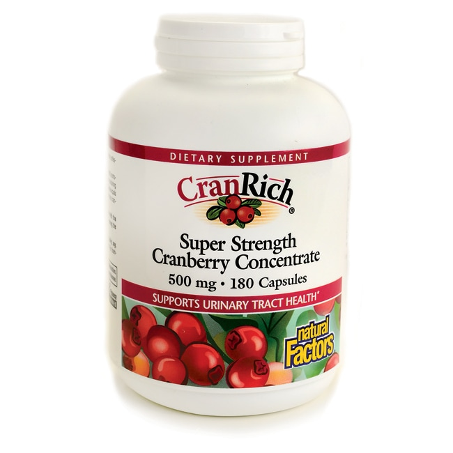 Natural Factors CranRich Super Strength Cranberry Concentrate