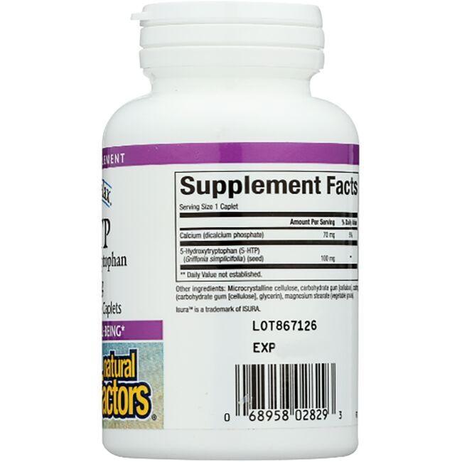 Natural FactorsStress-Relax 5-HTP Close Up