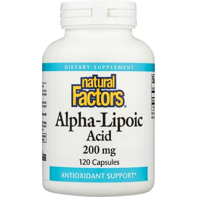 Natural Factors Alpha-Lipoic Acid